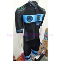custom clothing blue yellow black men cycling skinsuits lycra triathlon mountain bike speedsuit trisuit body suits wear jumpsuit
