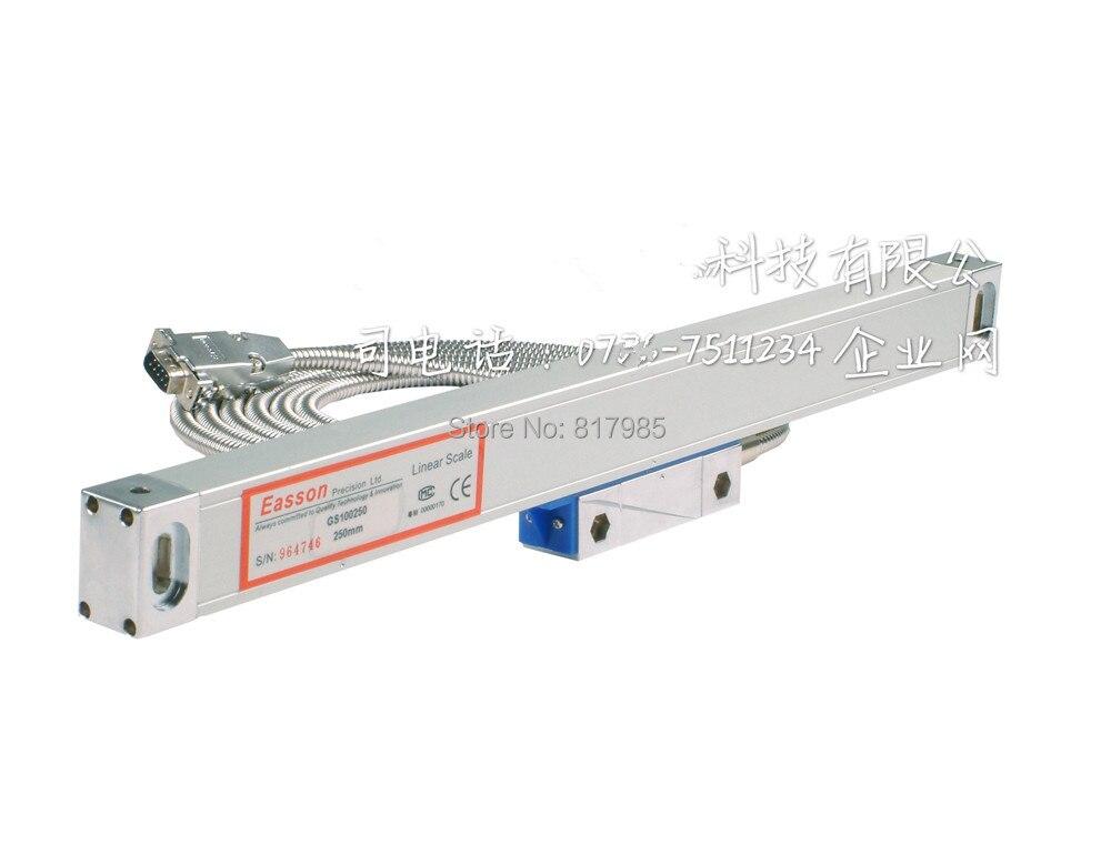 Easson Lineare Skala/GS10 Lineargeber mit schutz abdeckung optische linearsensor herrscher fräsen drehmaschine-in Füllstandmessgeräte aus Werkzeug bei AliExpress - 11.11_Doppel-11Tag der Singles 1