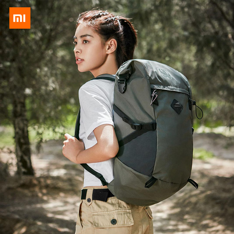 Xiaomi Mijia 90fen HIKE basic outdoor Backpack Level 4 water repellent 25L large capacity Suitable for outdoor travel 35Xiaomi Mijia 90fen HIKE basic outdoor Backpack Level 4 water repellent 25L large capacity Suitable for outdoor travel 35