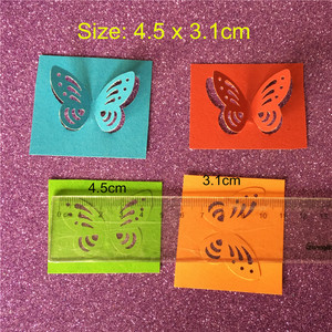 Image 5 - Free Shipping Large Size 4.5cm Stereoscopic 3D Butterfly Shape Punch Craft Scrapbook Paper Puncher Child DIY Tools Hole Punches