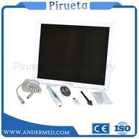 New Arrival High Definition Digital Dental Endoscope Equipment AIO LCD Monitor + Dental Intra oral Camera WI FI 17 Inches