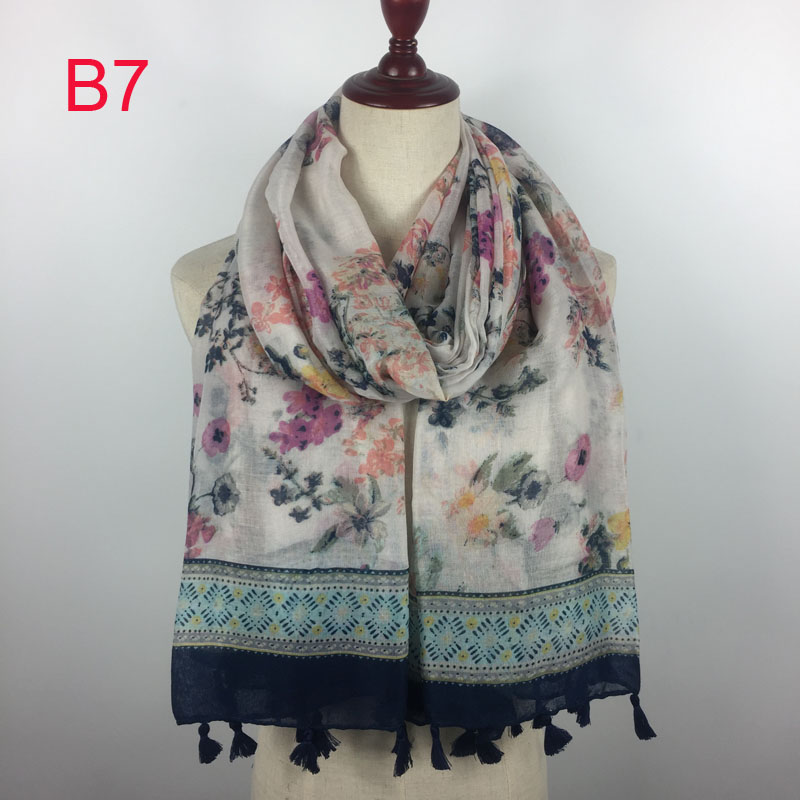 *US SELLER*5pcs wholesale lot birds flowers mixed designs infinity fashion scarf