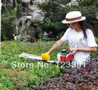Promotion of high quality single blade hedge trimmer for large area straight type hedge trimming your garden work best assistant