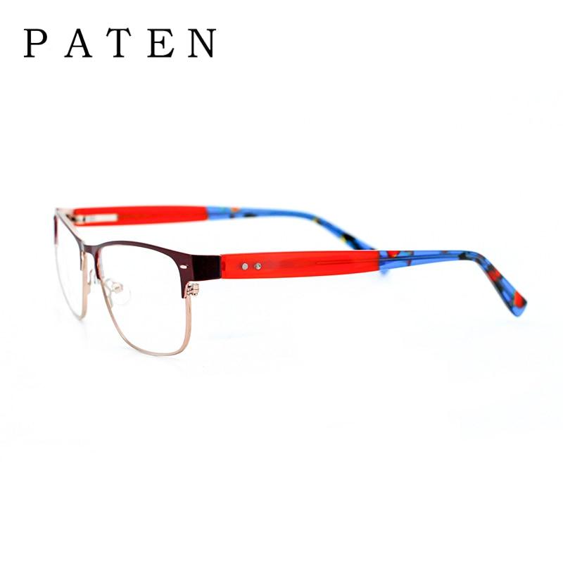 New Arrival Paten Fashion Multi Color Metal glasses frame Men 2017 ...