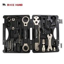 BICICLETA de MANO 18 en 1 Herramientas de Reparación de Bicicletas Kit de Sistema de la Caja de Múltiples MTB Cadena de Herramientas de Reparación de Neumáticos Kit Hex Spoke Wrench Destornillador Herramientas para Bicicletas