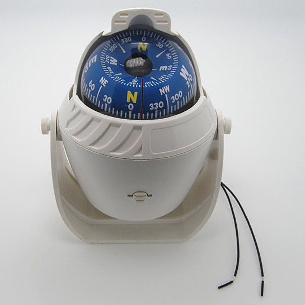 Venta caliente Blanco ABS LED Electrónico Luz de Navegación Del Coche Del Vehícu