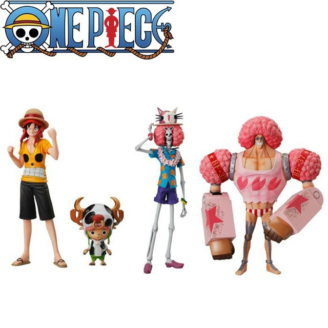 One Piece Characters Figurine Set [4pcs]
