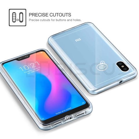 Full Body Case for Xiaomi Mi A2 Lite A1 8 SE A3 TPU Cover on Xiaomi Redmi Note 5 Pro Note 7 4 Global 4X Redmi 7A 6A 5 Plus 5A 6 Lahore