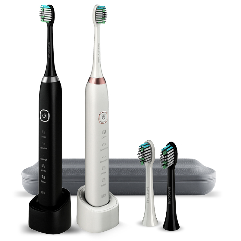 Sonic Adult Electric Toothbrush Ultrasonic Rechargeable Sonicare Automatic Smart Timer Waterproof brush with teeth brush case цена и фото