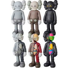 "8 ""9 färger KAWS Tide Doll OriginalFake BFF Tide Doll Brian Street Art PVC Action Figur Collectible Model Medicom Toy S161"