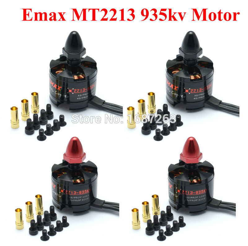 MT2213 2213 935KV Brushless Motor CW CCW 2 4S for F450 S500 X525 Multicopter Quadcopter