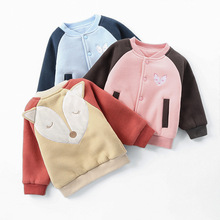 CHONGSELLER CS Outerwear Autumn Newborn Baby Girls Cotton