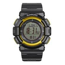 цена на SUNROAD Digital Men Watches Running Climbing Hiking Sports  Barometer Altimeter Compass Reloj Hombre Wristwatch