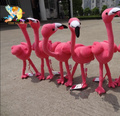 New Pink Flamingos Birds plush toy puppet doll Wildlife Bird Simulation Animal baby toy one piece