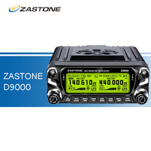 ZASTONE D9000 Car Walkie Talkie 50W VHF UHF Dual Band Multifunction Two Way Radio for Car Mobile Radio LED Display Transceiver