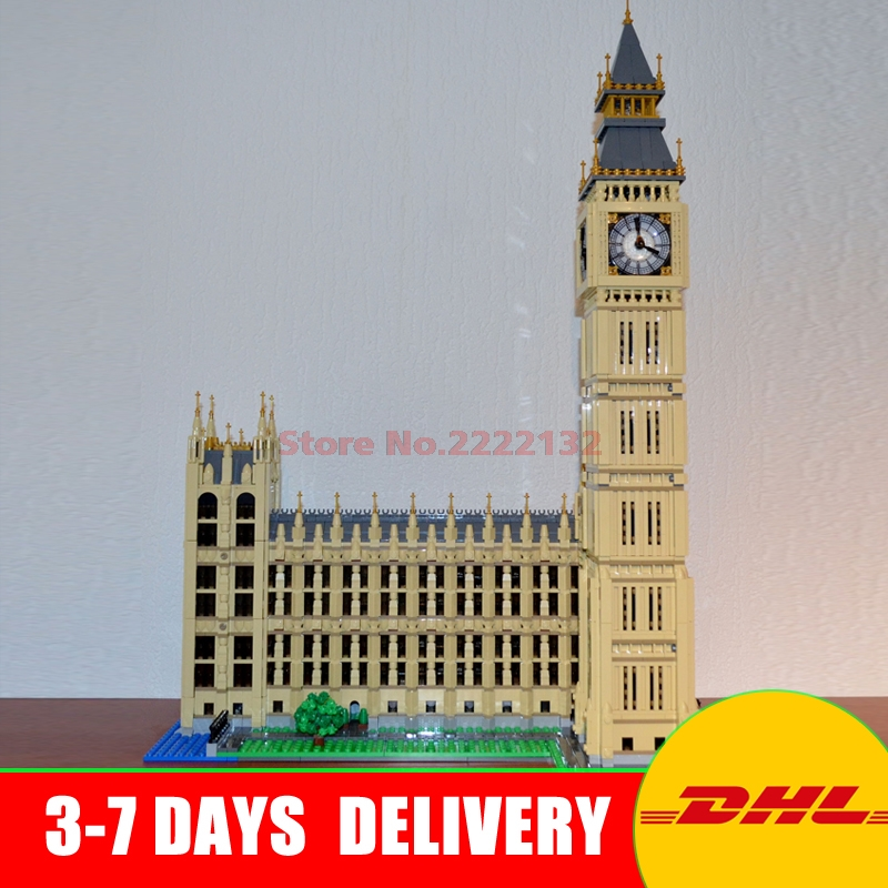 2016 New LEPIN 17005 4163Pcs City Big Ben Model Building Kit Set Blocks Bricks Compatible Children Toy Gift 10253 a toy a dream lepin 15008 2462pcs city street creator green grocer model building kits blocks bricks compatible 10185