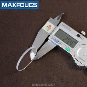Image 2 - フラット2.5ミリメートル2.2/2.3/2.4ミリメートル直径20〜29.5ミリメートルサファイアガラス腕時計部品ラウンド透明クリスタルガラス時計修理のための