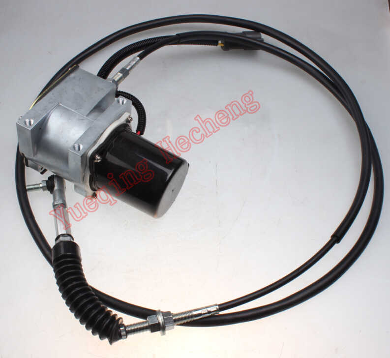 Throttle motor assembly 21EN-32220 for excavator R225-7 R220-7 R215-7CThrottle motor assembly 21EN-32220 for excavator R225-7 R220-7 R215-7C