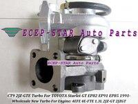 Бесплатная Доставка Новый CT9 Turbo турбины Турбокомпрессоры для Toyota Starlet 4efe ep82 EP91 EP85 1.3l Двигатели для автомобиля 2jz gt Turbo