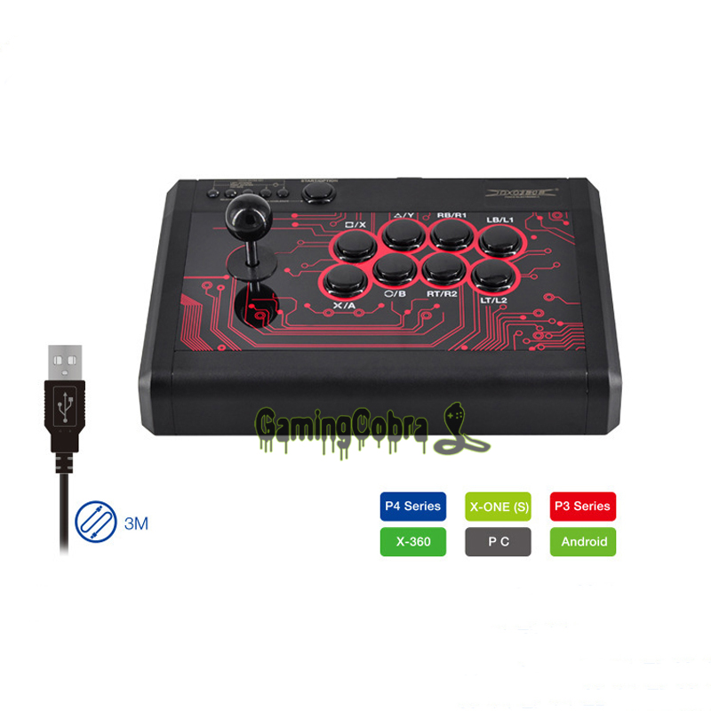 Аркады боевые палки 6in1 Джойстик контроллер для PS4/PS3/Xbox One/S/Xbox 360/PC/Android телефоны