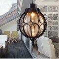 Винтажный водонепроницаемый открытый роскошный декоративный внутренний двор сад балкон Европейский тип потолочный светильник подвесной ...
