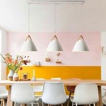 Lukly3 nowoczesne lampy wiszące sufitowe Loft do kuchni wisiorek led Lights Hanglamp wisząca oprawa oświetleniowa wiszące oświetlenie led
