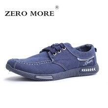 ZERO больше холст Мужская обувь Denim Узелок Для мужчин повседневная обувь Новый 2018 пары тапочек дышащая мужская обувь весенние кроссовки RME-252