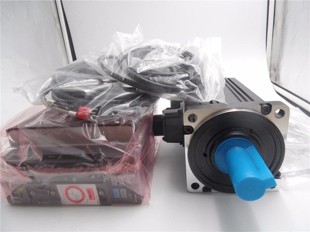 AC Servo Motor ECMA-E11310RS+ASD-A2-1021-M Servo Drive 220V 1KW 2000rpm 130mm New 1 Year Warranty mr j2s 40a 220vac 400w ac servo drive new original one year warranty
