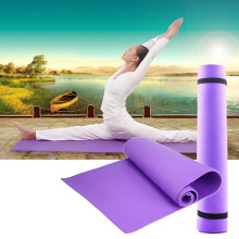 new Arrival Exercise Mat 6mm Thick Non-Slip Yoga Mat Exercise Fitness Lose Weight 68x24x0.24inch YKS цена