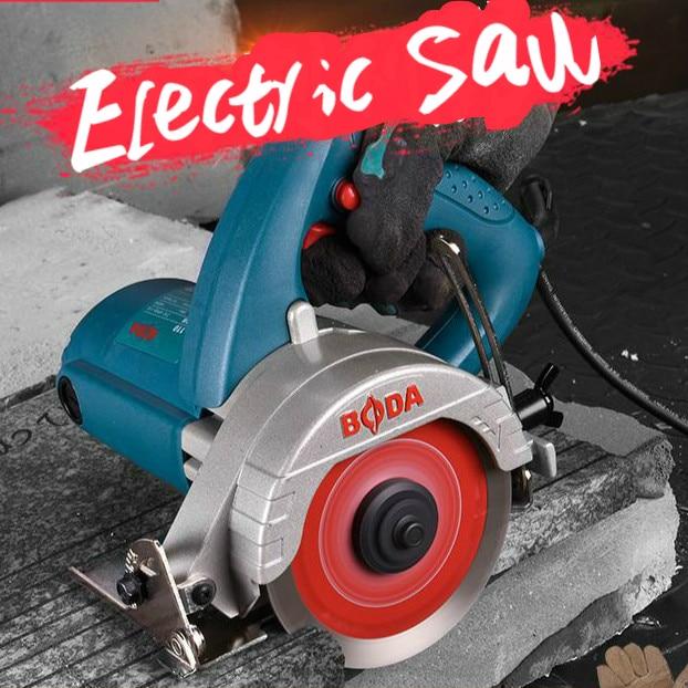 1200w/1400w Woodworking Electric Circular Saw 110mm Wood Saw Electric Saw (package 2pc Saw Blade)