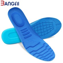 3ANGNI 1 Pair Insoles Memory Foam Sweat-Absorbant Sport Massage Arch Support Soft Pad Insert Woman Men Feet Pain Shoes Sole
