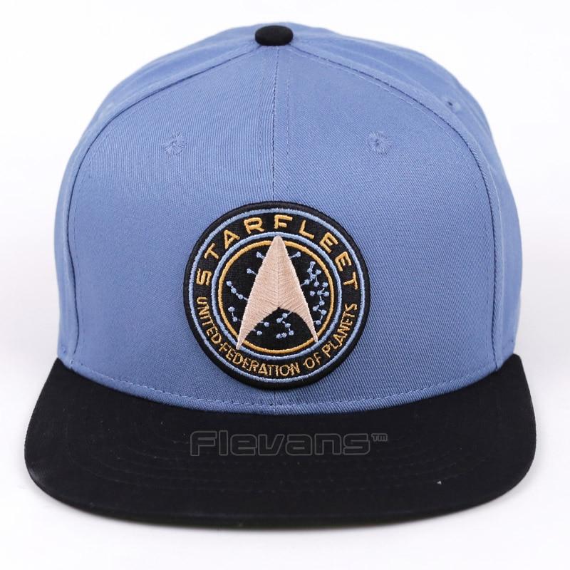 Star Trek Starfleet Snapback Caps Men Women Fashion Summer Caps Hats Adjustable Baseball Cap star trek the visual dictionary