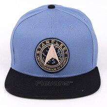 2a8cf0fb17b Flevans Star Trek Starfleet Snapback Men Women Summer Hats Adjustable  Baseball Cap
