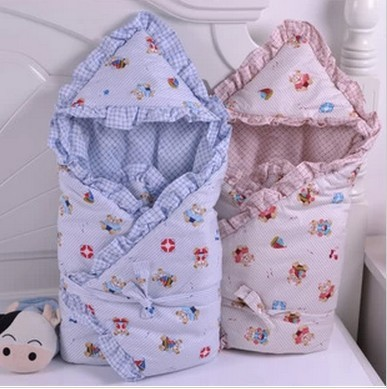 Best Quality New Baby Blanket Bedding Baby Warm Swaddleme Wrap