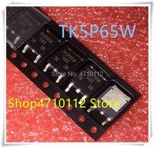 NEW 10PCS/LOT TK5P65W TK5P65 5P65W TO-252 IC