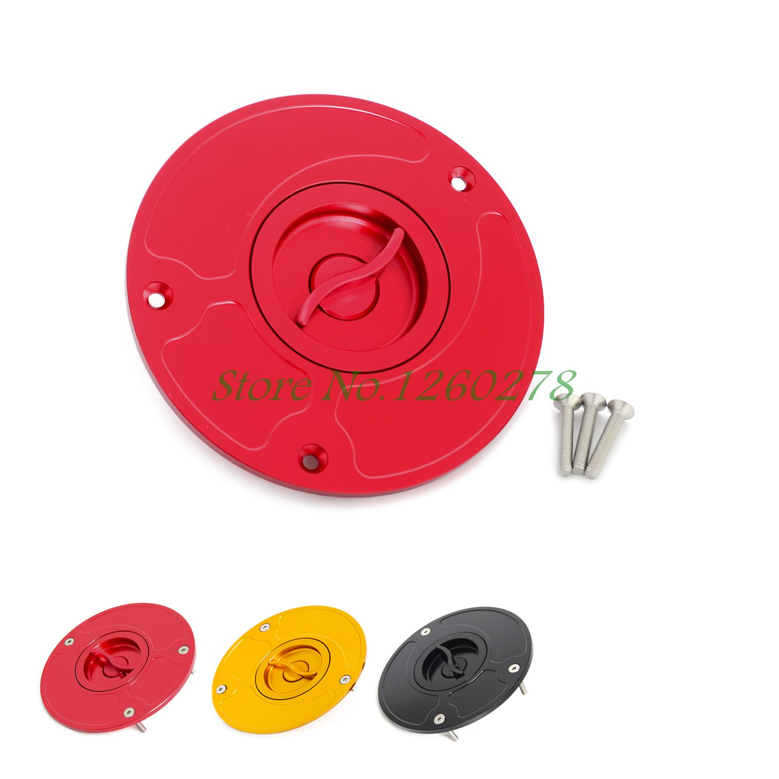 Aluminum Fuel Gas Cap Cover Fit For CBR929 CBR954 CBR 250RR CBR 400RR RVF 400 VFR