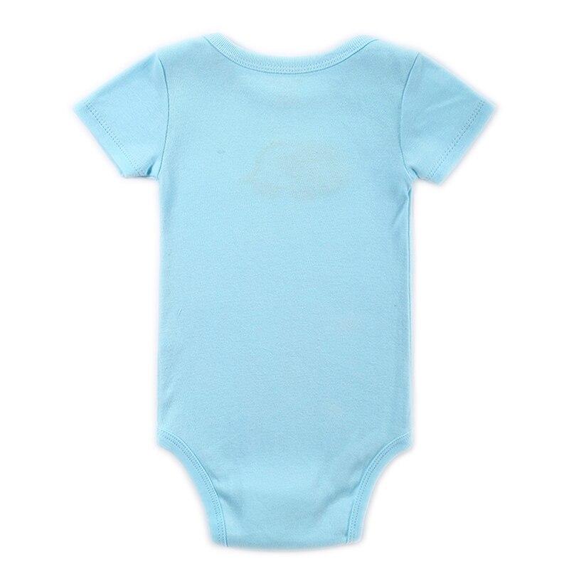 Mono del bebé 0-12 meses de manga corta bebé infantil de dibujos - Ropa de bebé - foto 2