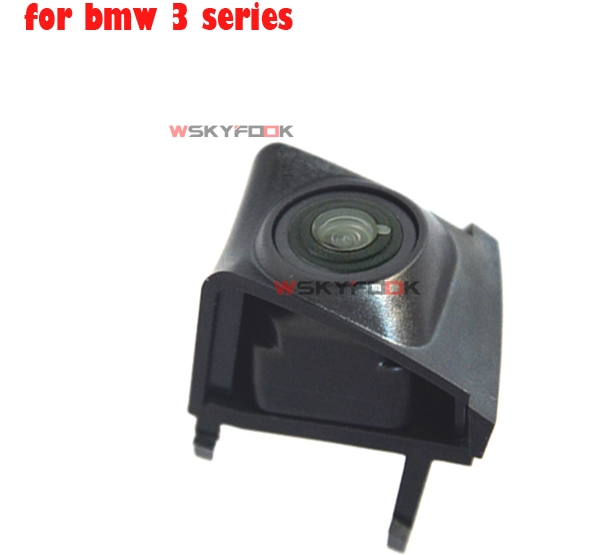 IP68 Waterproof CCD Wide Degree Car Front View Camera Logo Embedded for BMW 2013 X1X3 2014