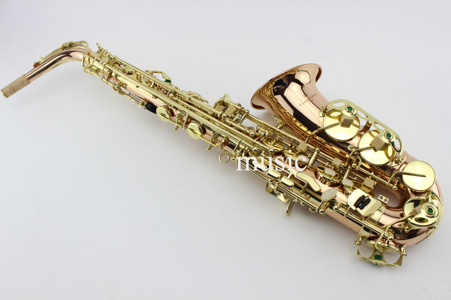 2017 NEW Japanese Yanagisawa A-992 E-flat Alto saxophone Gold Lacquer Sax Music instruments Perfect quality Free shipping 9965 2 vibration motorcycle burglar alarm w dual remote controller red black