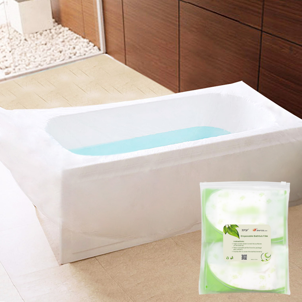 TFY Ultra Large Disposable Film Bathtub Bag for Salon, Household ...