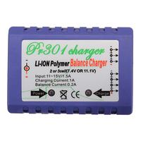 RC301 Balance Charger For 7 4V 11 1V 2s 3s LiPo Battery For RC Helicopter Part