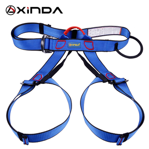 Image 5 - Xinda Professional Outdoor Sports pas bezpieczeństwa wspinaczka skałkowa Outfitting uprząż pas wspierający pół szelki Aerial Survival