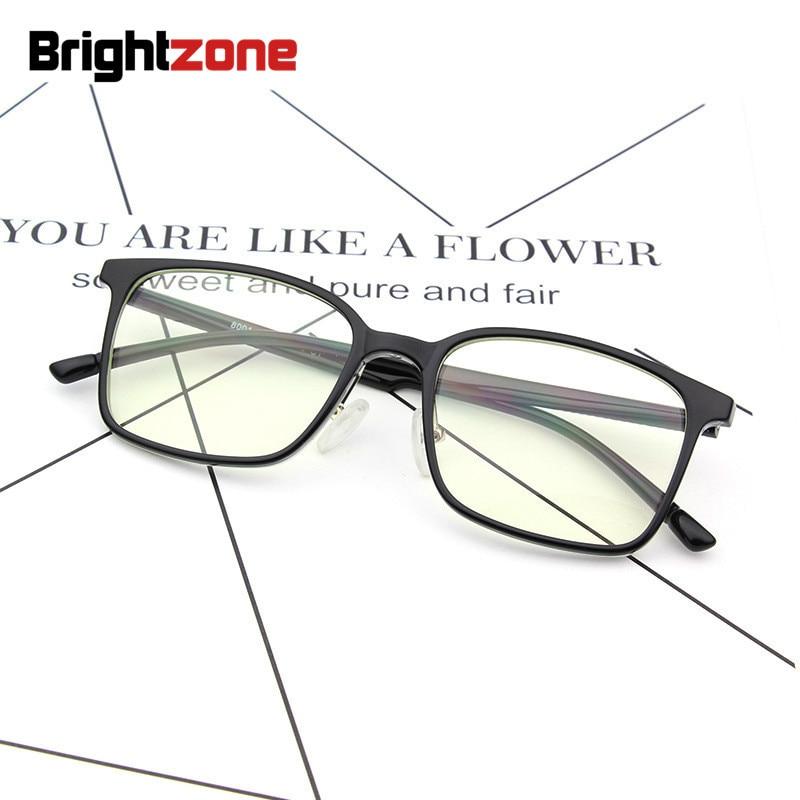 3f676b4286782 Brightzone 2018 Anti Blue Ray Óculos de Telefonia móvel Do Vintage Quadrado  Computador Marca Espetáculo Óptico
