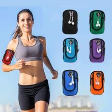 Universal Waterproof armbands Sports Gym Running Armband Waist Belt Outdoor Phone bag case holder for iphone Huawei  4-6 inch стоимость