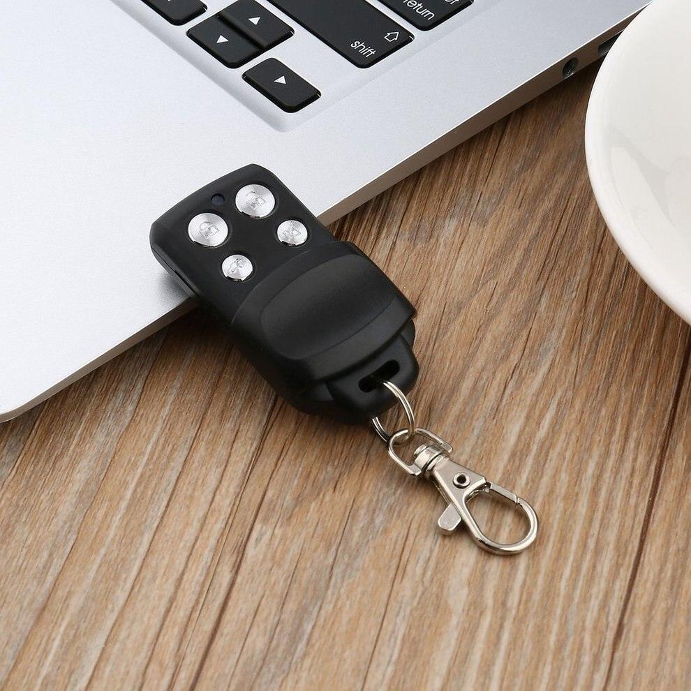 10 PCSUniversal 4-Bouton Sans Fil Auto Télécommande Clonage Porte pour Porte de Garage Télécommande Duplicator Portable Clé De Mode