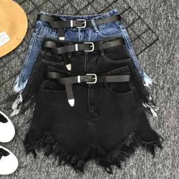 jean shorts women's denim shorts