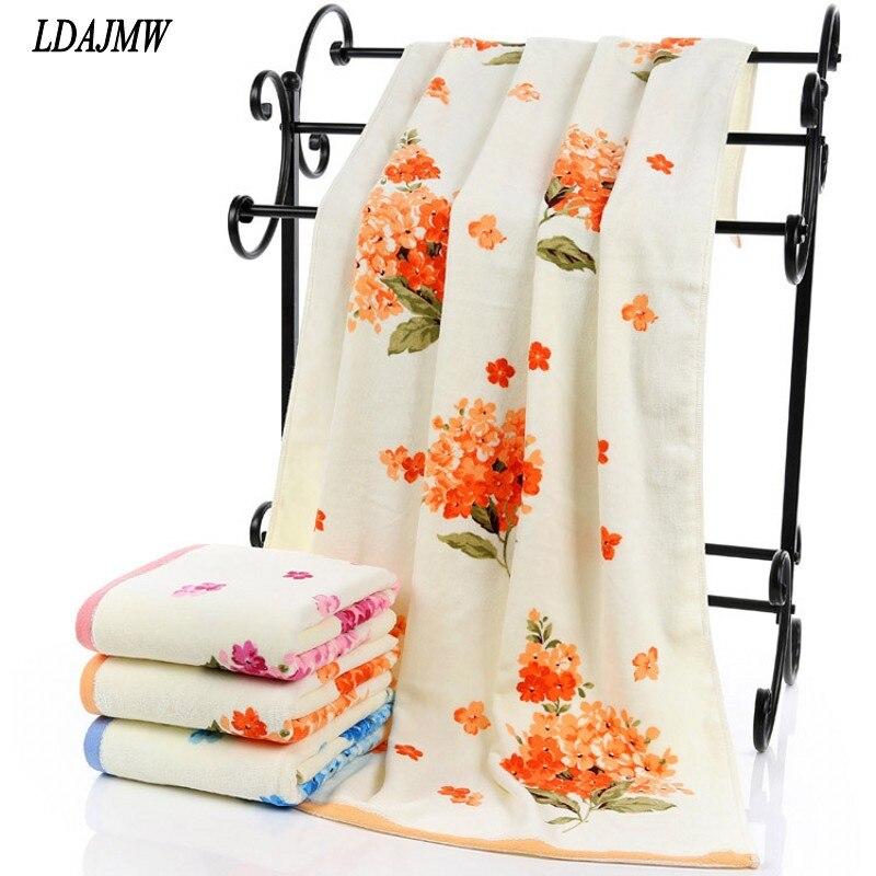 Impresión activo ldajmw towel absorbente estupendo bath towel textiles para el h