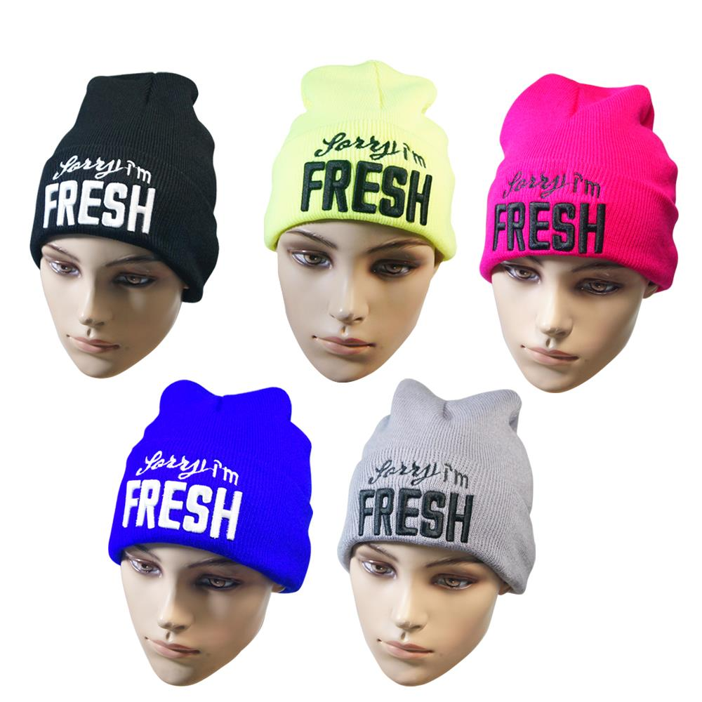 New Autumn Winter Hats For Men Women Women's Cotton Solid Unisex Warm HIP HOP Knitted Hat Female Caps Skullies Letters Beanies  new 2016 winter hat nasa men women unisex solid brand hot sale warm casual knitted hip hop caps hat female skullies beanies