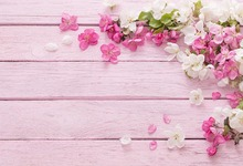 Photography Backdrop Newborn Wood Floor Photo Background Baby shower Flower Backdrop for Photo Studio Props Small Size kate shabby suitcase newborn photography props national flag baby shower backdrop cotton washable photo backdrop