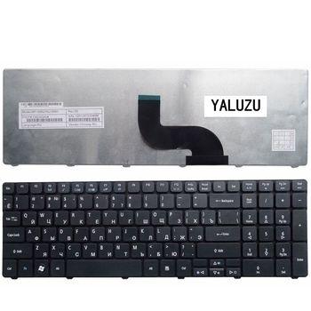 YALUZU rosyjski klawiatura do Acer PK130C94A00 NSK-AUB0R PK130C91104 V104702AS3 MP-09B23SU-6983 PK130C91100 RU Laptop czarny tanie i dobre opinie Russian Standard